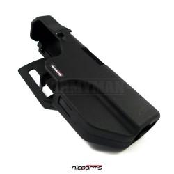 NICOARMS Force-GR 450, taktické pouzdro opaskové Glock, armádní černá