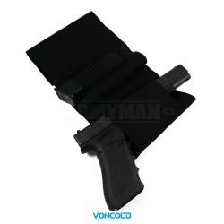 VONCOLD C-TOP 869, taktický opaskový pás na pistoli, armádní černá