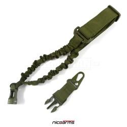 NICOARMS SSQD-Strap QD55 popruh na zbraň, armádní zelená