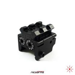 NICOARMS LBA-401 taktický laserový zaměřovač, rail