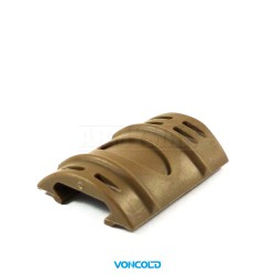 VONCOLD Handguard SAS-519, Krytky na RIS lišty, polymer,sada po 12