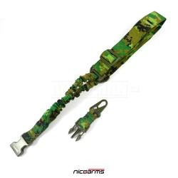 NICOARMS SSQD-Strap QD59 řemen na zbraň, maskovací