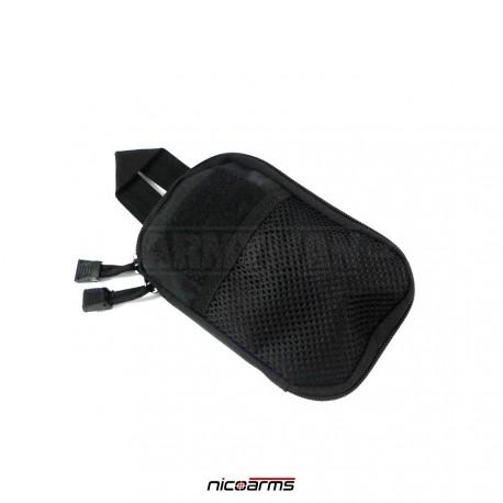 NICOARMS One-Bag Black, transportní pouzdro, armádní černá