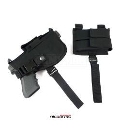 NICOARMS Top-Case 785,  taktické pouzdro na pistoli podpažní, armádní černá