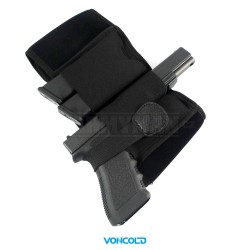 VONCOLD C-TOP 870, taktický opaskový pás na pistoli, armádní černá