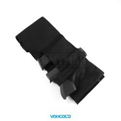 VONCOLD C-TOP 871, taktický hrudní pás na pistoli, armádní černá