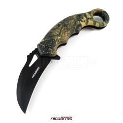 NICOARMS Karambit Smoke-13, Nůž zavírací
