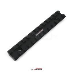 NICOARMS RA12521 hliníková lišta RIS 125 x 21 mm