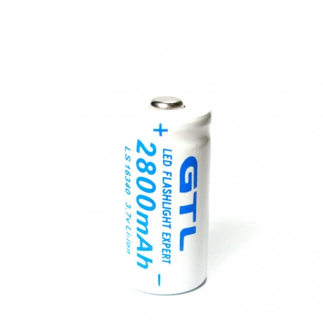 GTL akumulátor LS-16340 3,7 V 2800 mAh Li-Ion