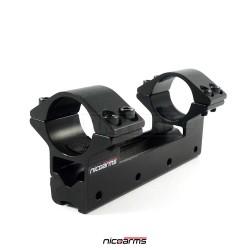 NICOARMS LM6032, 25.4mm Montážní lišta SET
