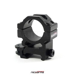 NICOARMS QD1020, 25,4mm Montážní kroužky