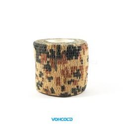 VONCOLD Camo-Strip-120 Desert Camo Masking Tape