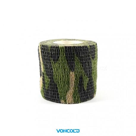 VONCOLD Camo-Strip-121 Maskovací páska Desert Woodland