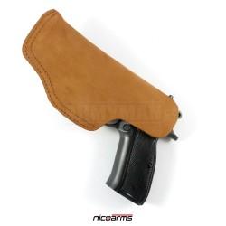 NICOARMS Light-Top 32, pouzdro na pistoli opaskové, armádní pouštní