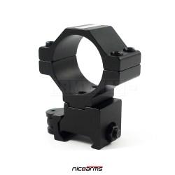 NICOARMS QD1021, 25,4,30mm Montážní kroužek