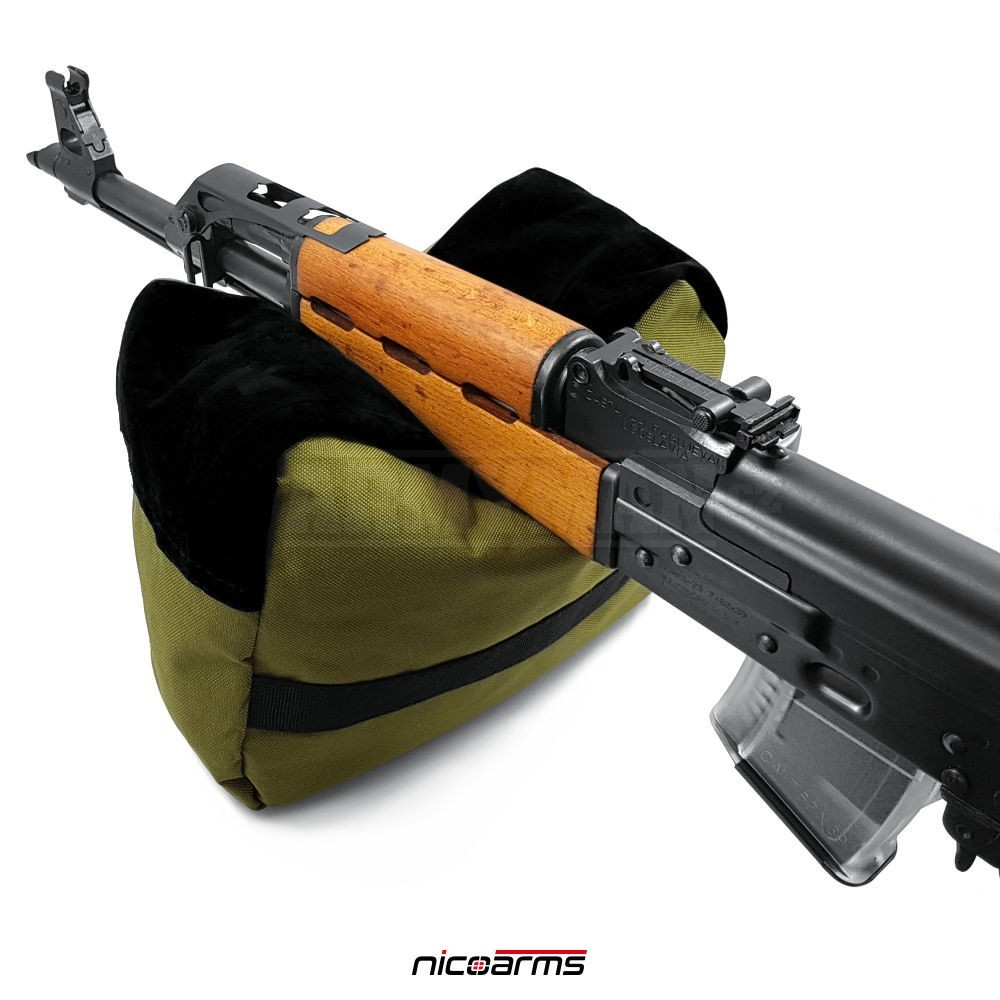 nicoarms-rest-bag-green-nastrelovaci-pyt