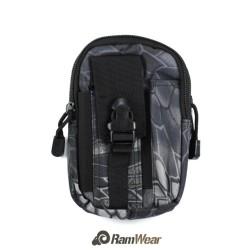 Ramwear Pocket-Bag-410, transportní kapsa na doklady, armádní python černá