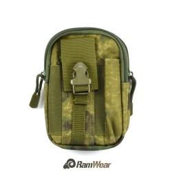 Ramwear Pocket-Bag-414, transportní kapsa na doklady, armádní woodland kamufláž