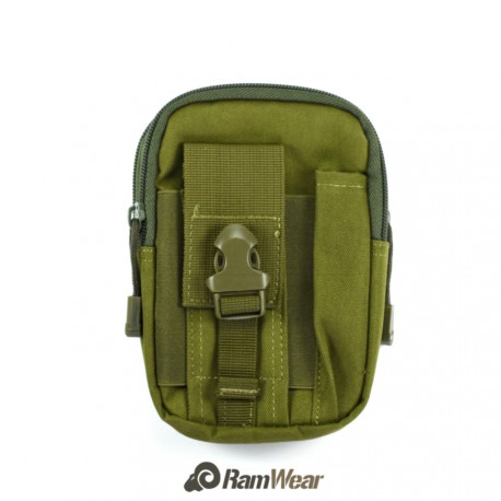 Ramwear Pocket-Bag-415, transportní kapsa na doklady, armádní zelená