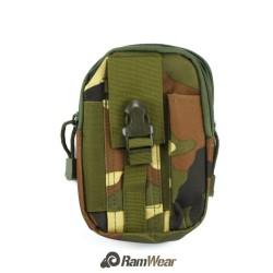 Ramwear Pocket-Bag-416, transportní kapsa na doklady, armádní klasická kamuflážní