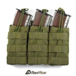 Ramwear Raptor-triple-461, otevřená sumka pro zásobníky