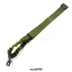 NICOARMS B-Strap SQD3 popruh na zbraň, armádní zelená