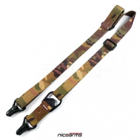 NICOARMS SSCQD-Strap QD203 popruh na zbraň, armádní jungle