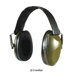 CrossEye Tac-Force Green, Střelecká sluchátka