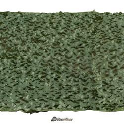 RamWear Camo-NET-13, Maskovací plachta zelená kamufláž