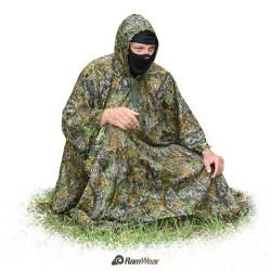 RamWear DEFENDER-CLOAK-66, Maskovací oblek jungle kamufláž