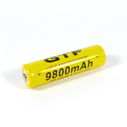 ULTRAFIRE accumulator CN-18650 3.7 V 9800 mAh Li-Ion