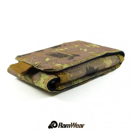 Ramwear CELL-Bag-50, transportní kapsa na telefon, armádní ruins kamufláž