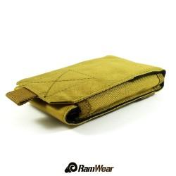 Ramwear CELL-Bag-52, transport pocket for phone, army desert