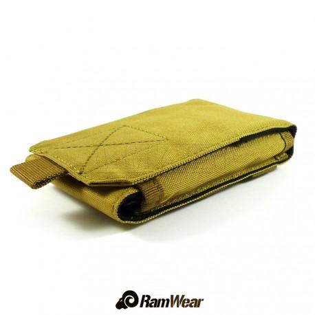 Ramwear CELL-Bag-52, transportní kapsa na telefon, armádní pouštní