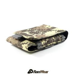 Ramwear CELL-Bag-62, transport pocket for phone, military acu camouflage