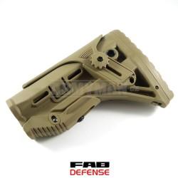 FAB Defence GL-SHOCK, pažba armádní pouštní
