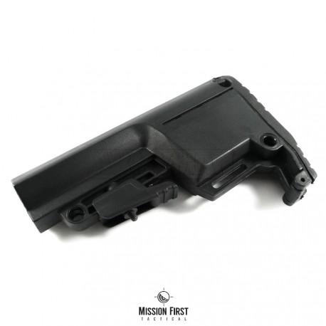Mission First Tactical BATTLELINK Utility Low Profile Commercial Stock, pažba armádní černá