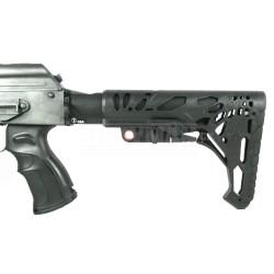 AK74/47 SET XVI - pažba, teleskop, grip