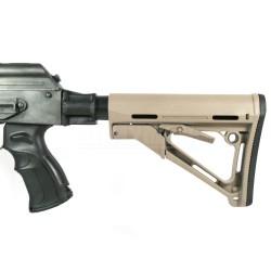 AK74/47 SET XX - pažba, teleskop, grip