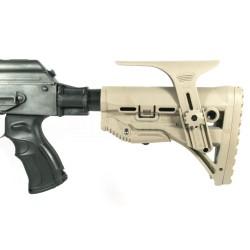 AK74/47 SET XXI - pažba, teleskop, grip