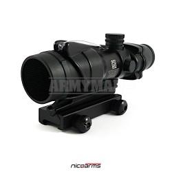 NICOARMS ACKF-10 antireflexní clona pro puškohled ACOG