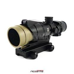 NICOARMS ACKF-11 antireflexní clona pro puškohled ACOG