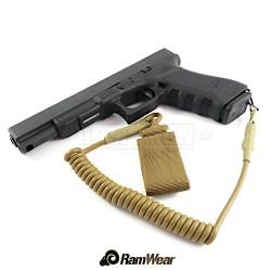 RAMWEAR PSST-Strap QD461 bezpečnostní šňůra, armádní pouštní
