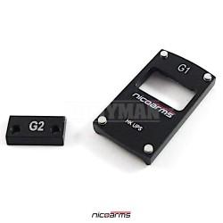 NICOARMS MTO-BERETTA-RD Pistol base plate