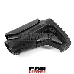 FAB Defense GL-SHOCK, army black buttstock