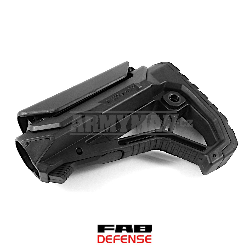 MBA FAB Defense Polymer Mono-Pod Butt Stock Add-ON comfortable anti slip