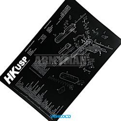 VONCOLD PAD HK-USP, Čisticí gumová podložka