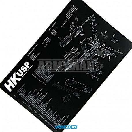 VONCOLD CORD UNIVERSAL-545, Gun cleaning kit