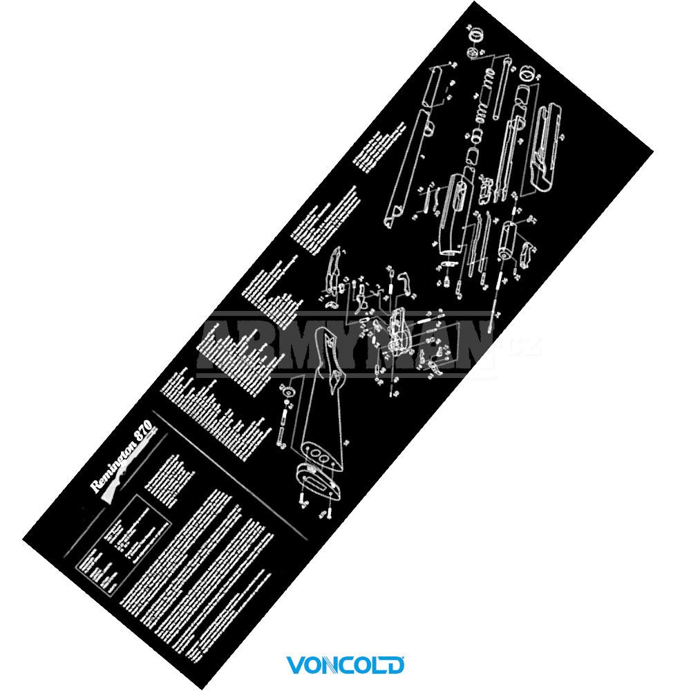 voncold-pad-remington-870-cistici-gumova