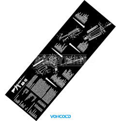 VONCOLD PAD Remington - 870, Cleaning Rubber Pad